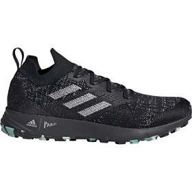 adidas TERREX Two Parley Shoes Herre core black/grey two/linen green